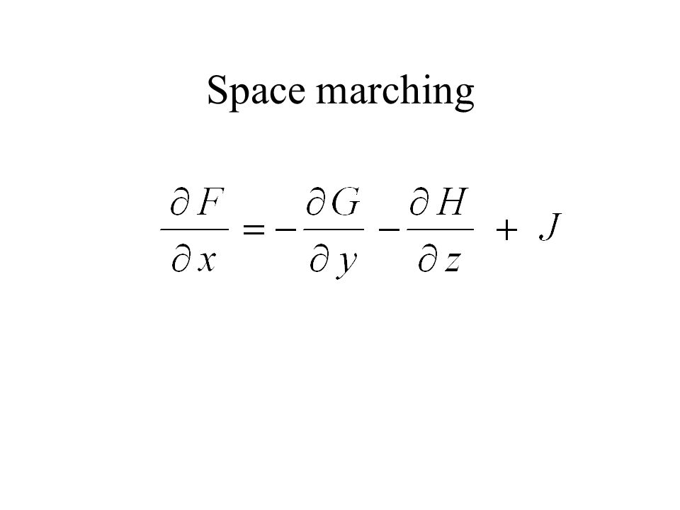 Space marching