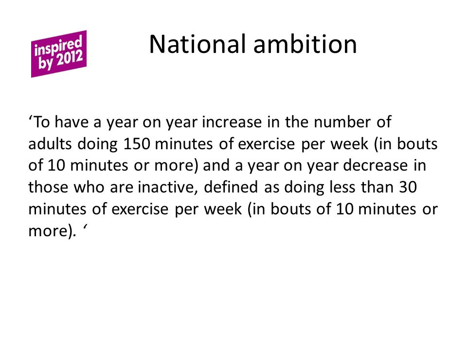 National ambition