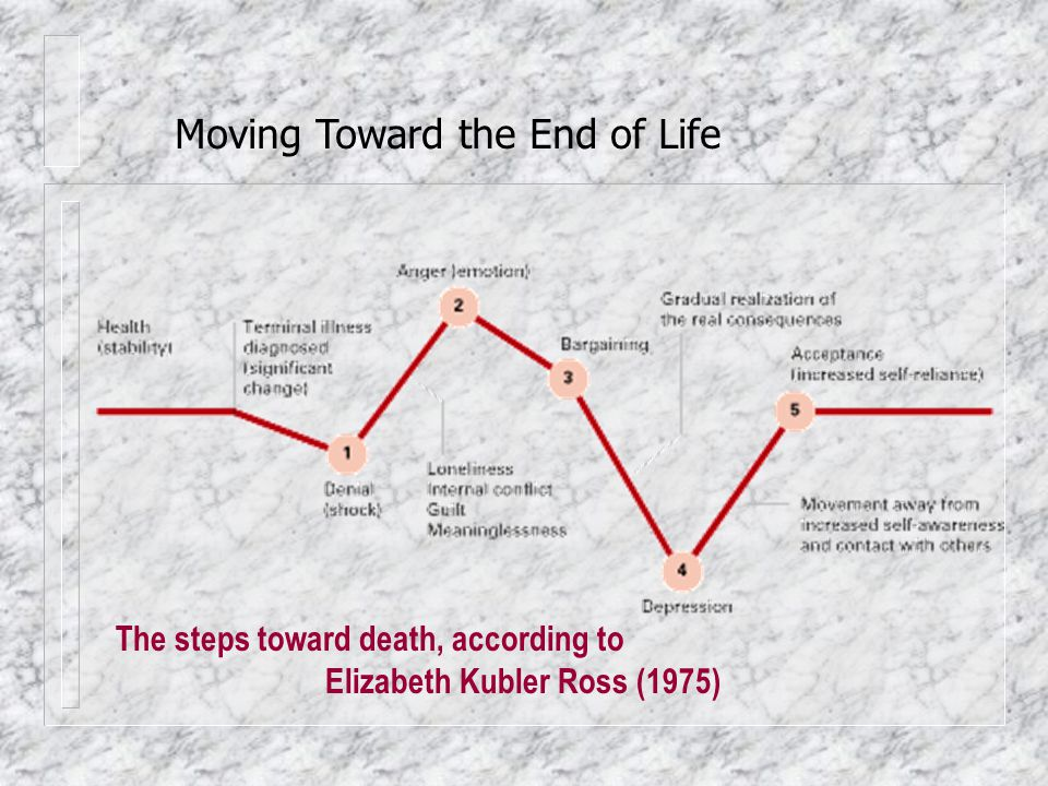 Moving Toward the End of Life