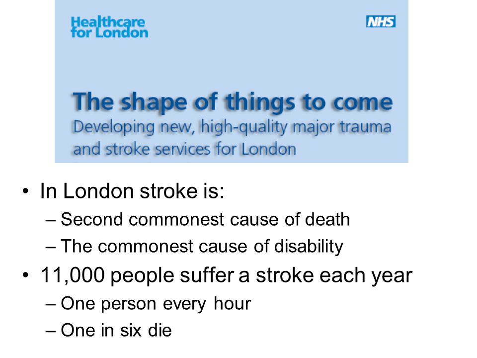 11,000 people suffer a stroke each year