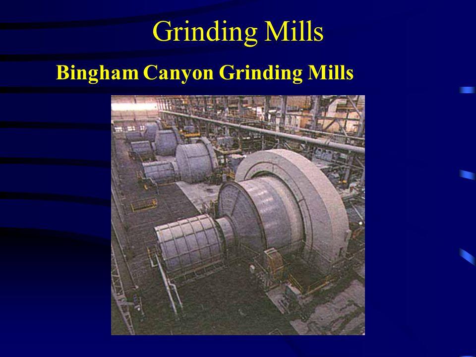 Grinding Mills Bingham Canyon Grinding Mills