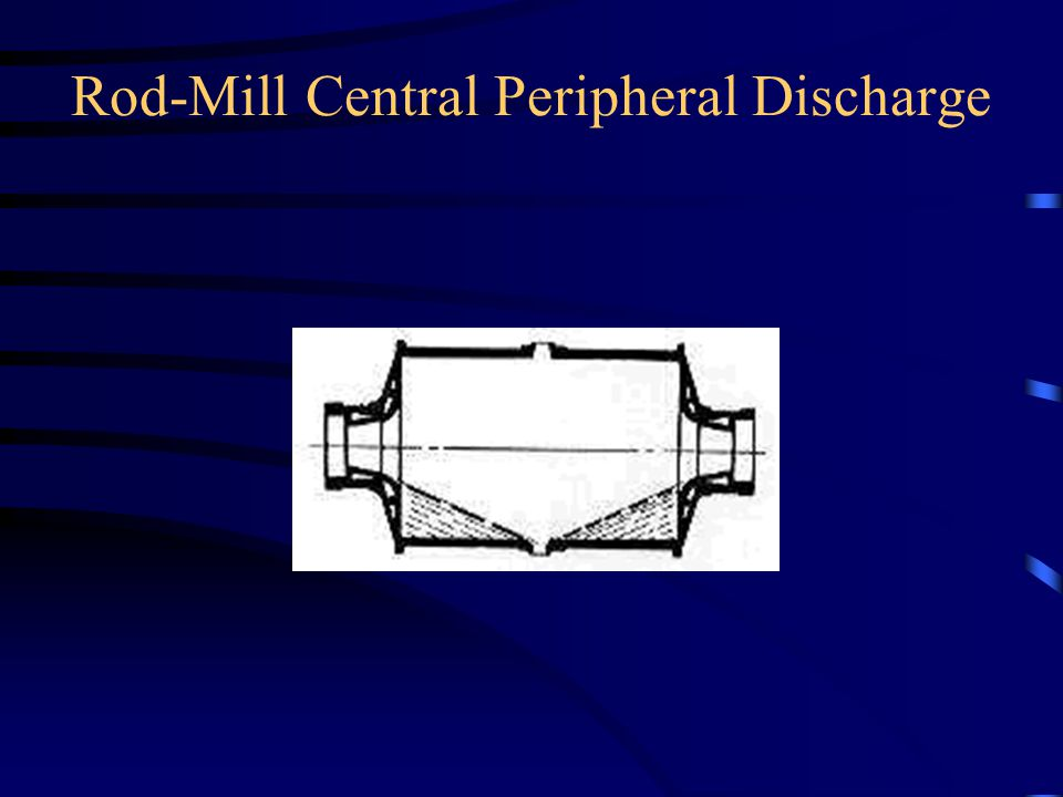 Rod-Mill Central Peripheral Discharge