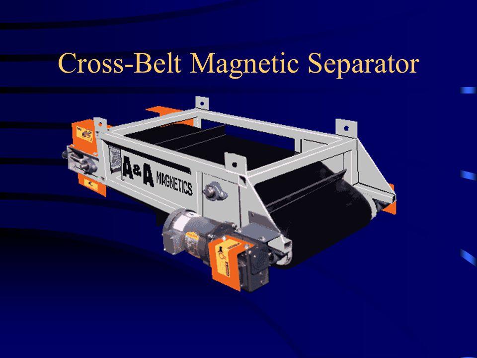 Cross-Belt Magnetic Separator