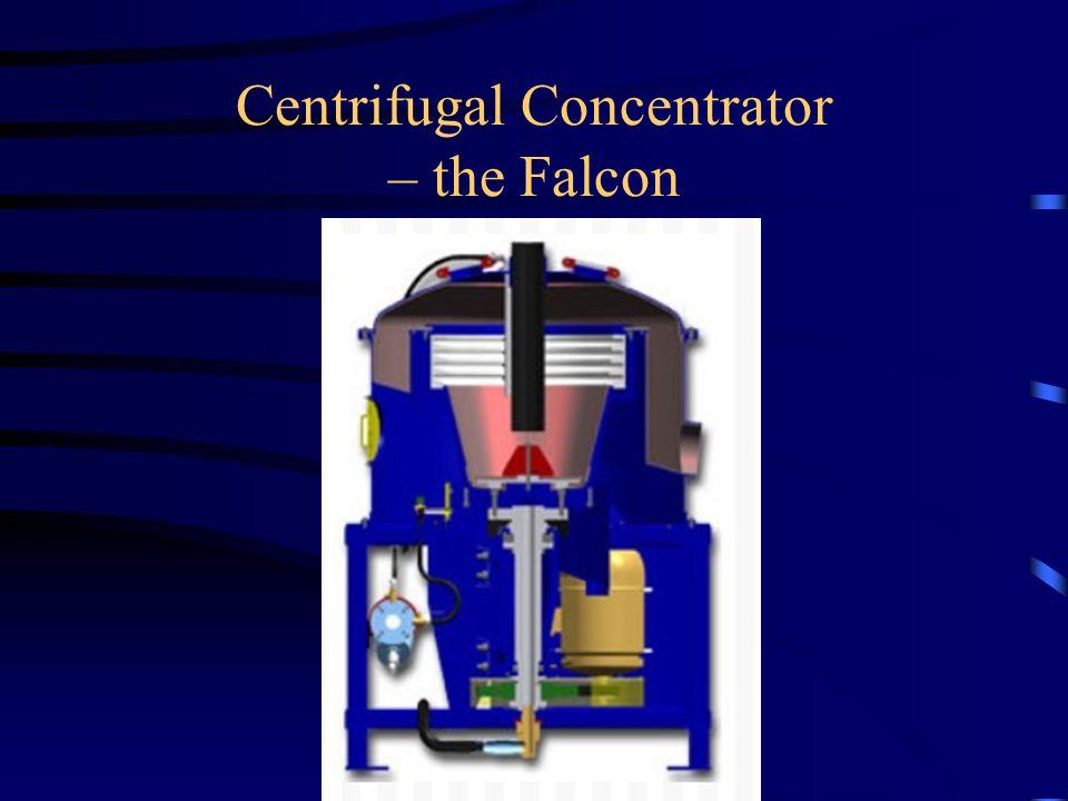 Centrifugal Concentrator – the Falcon