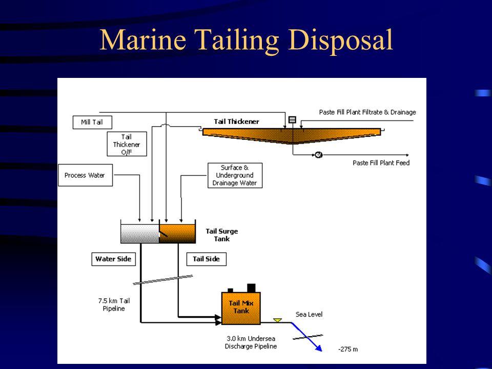 Marine Tailing Disposal