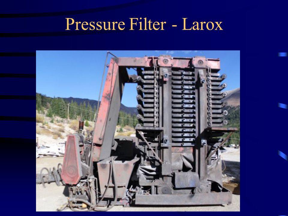 Pressure Filter - Larox