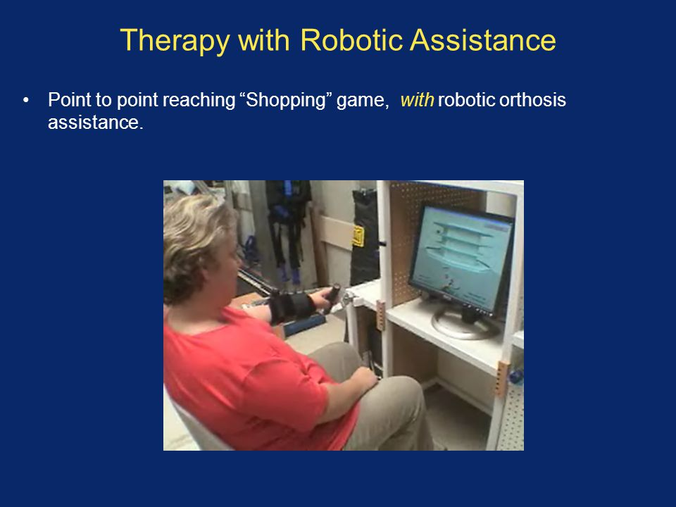 Therapy with Robotic Assistance