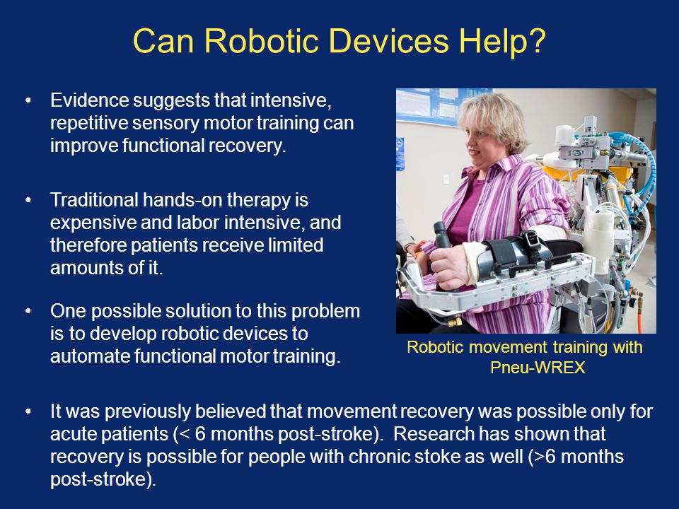 Can Robotic Devices Help