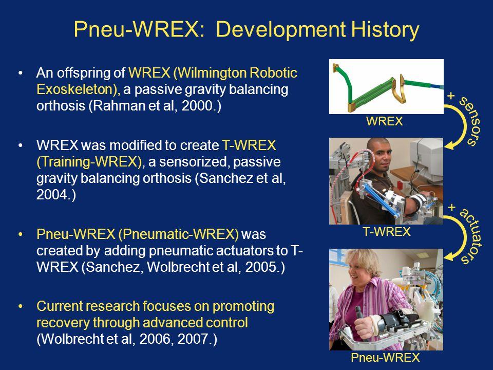 Pneu-WREX: Development History