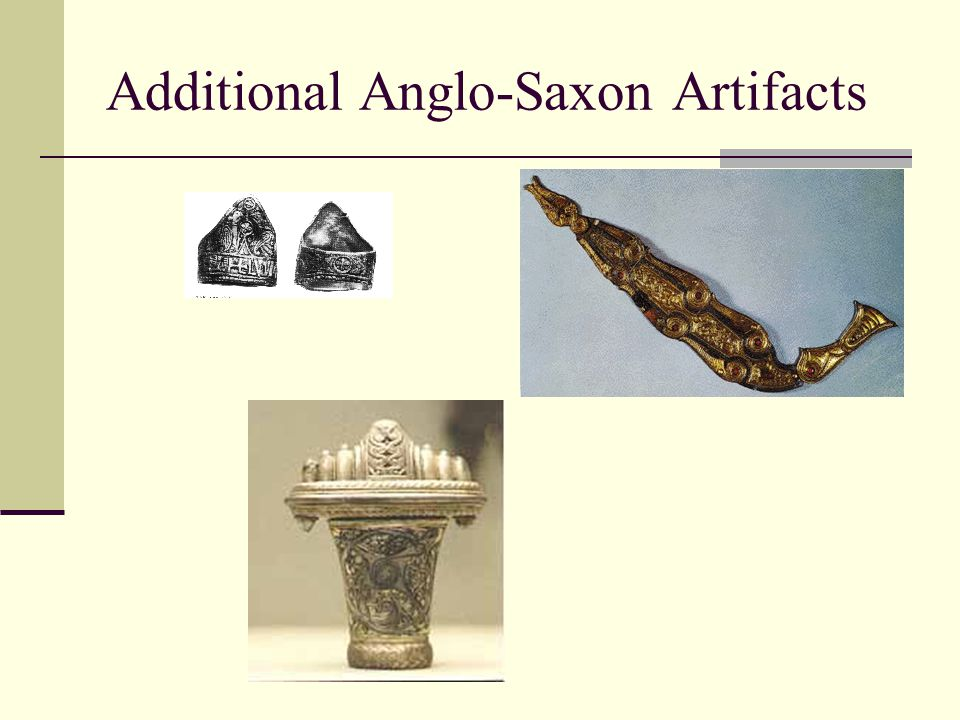 Additional Anglo-Saxon Artifacts