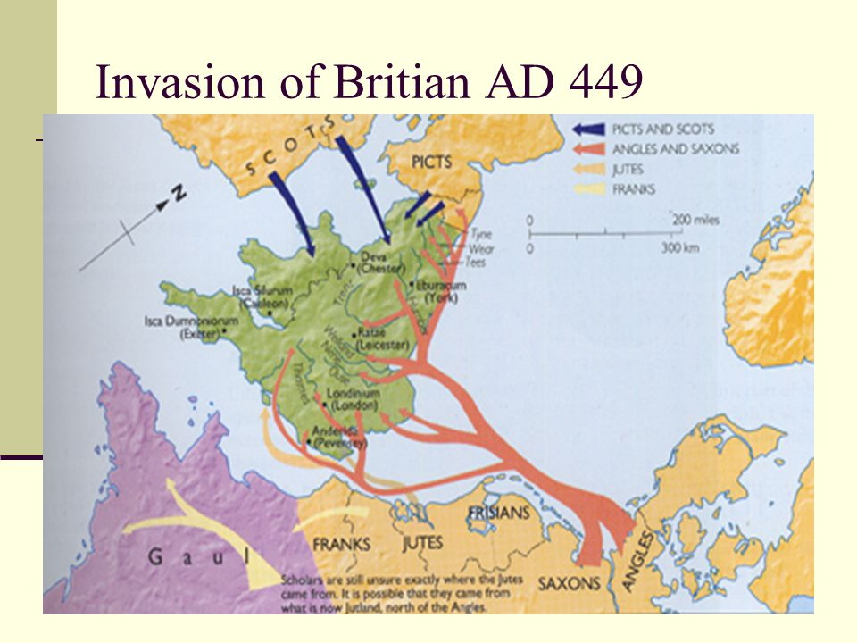 Invasion of Britian AD 449