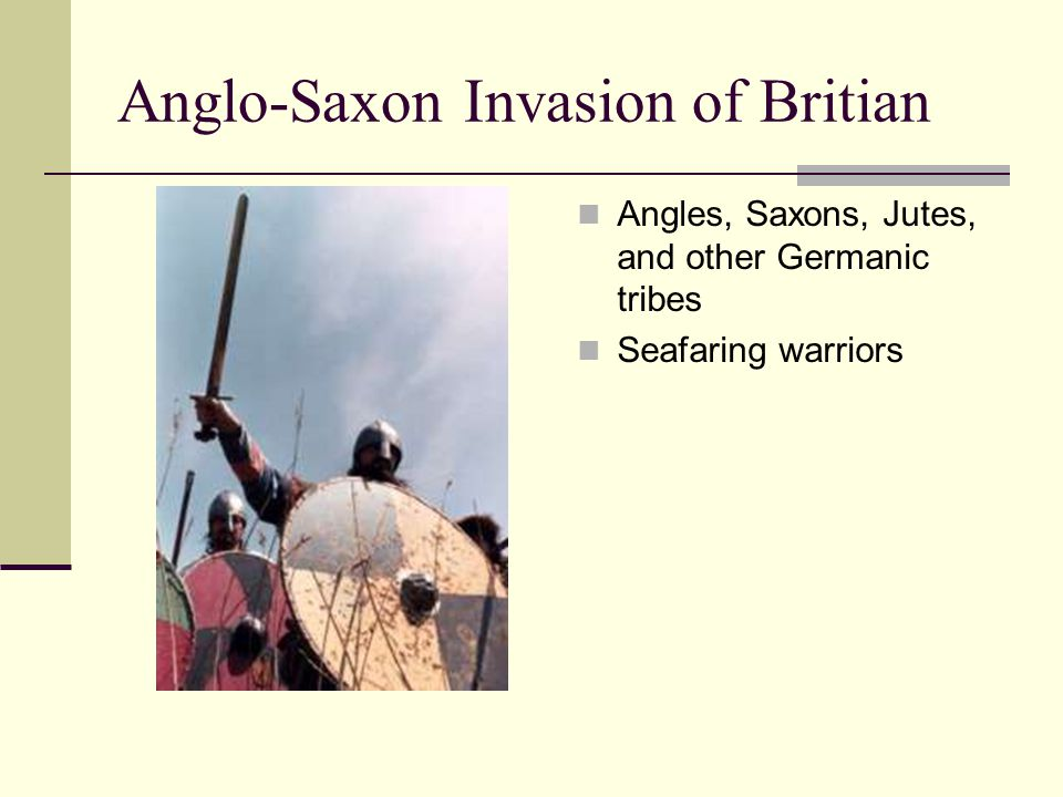 Anglo-Saxon Invasion of Britian