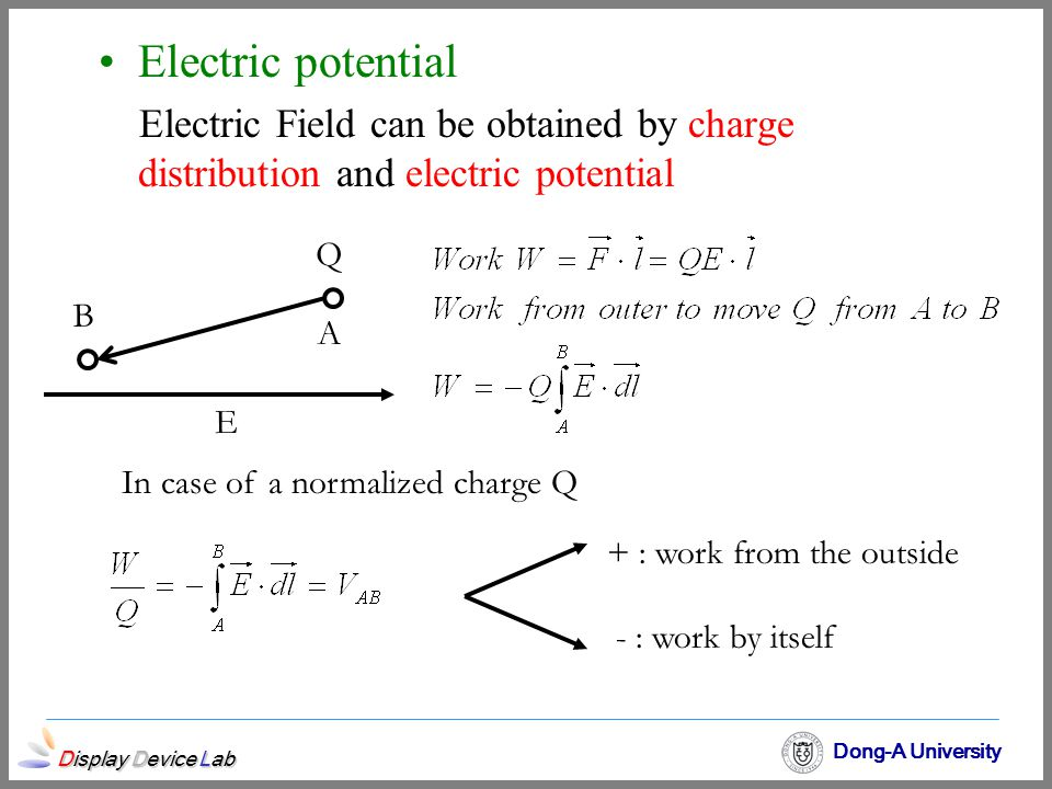 In case of a normalized charge Q