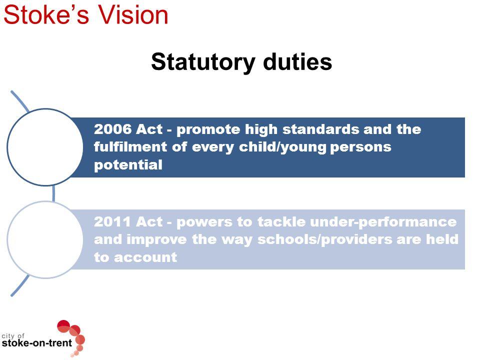 Stoke's Vision Statutory duties