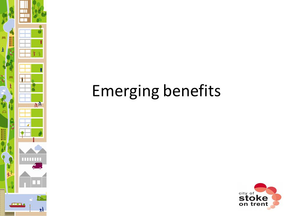Emerging benefits
