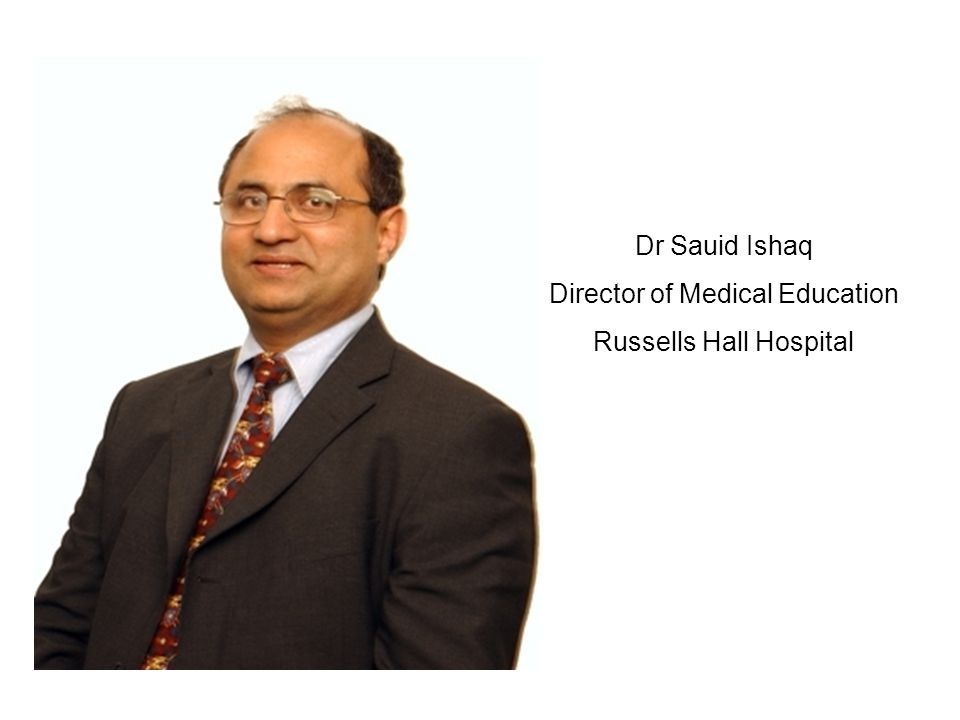 Director of Medical Education Russells Hall Hospital