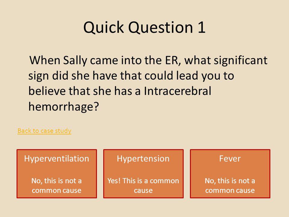 Quick Question 1