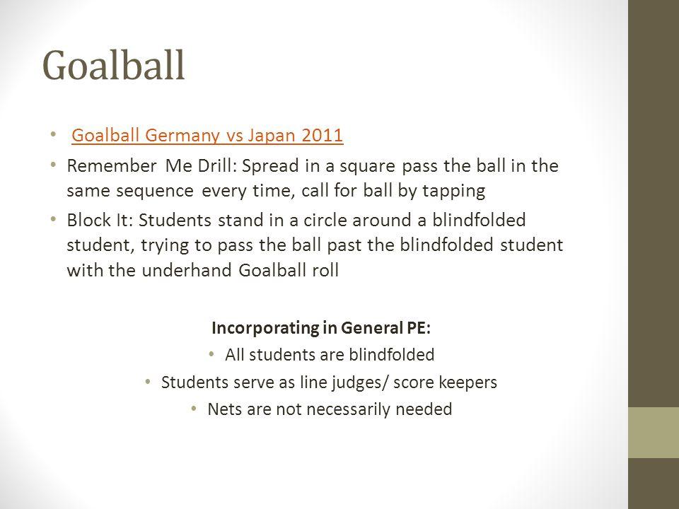Incorporating in General PE: