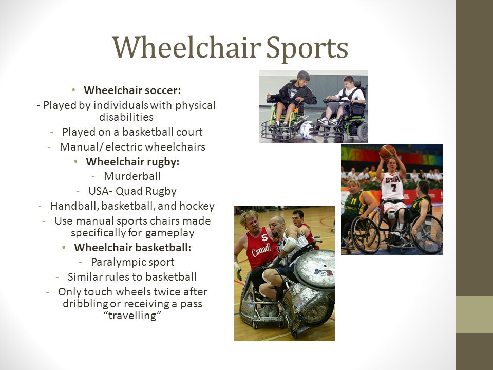 Wheelchair basketball:
