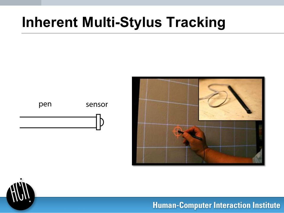 Inherent Multi-Stylus Tracking