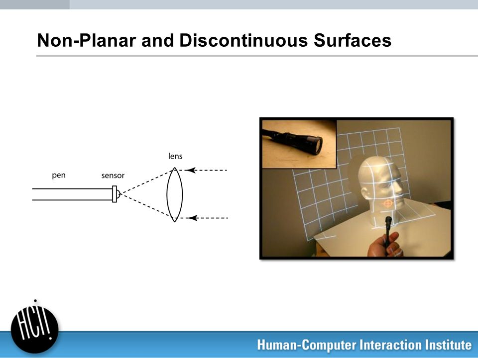 Non-Planar and Discontinuous Surfaces
