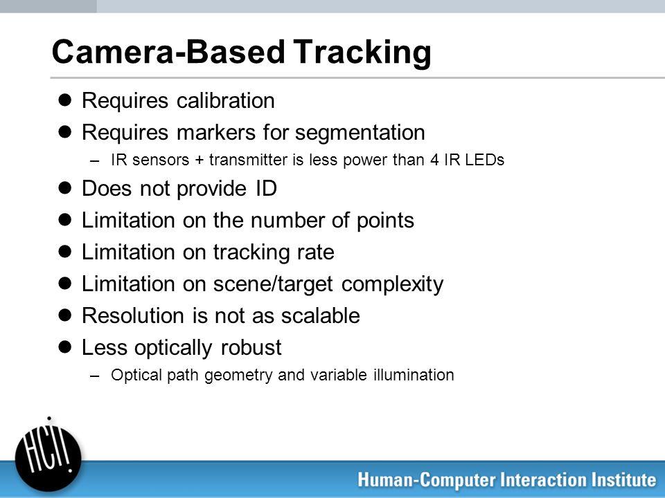 Camera-Based Tracking