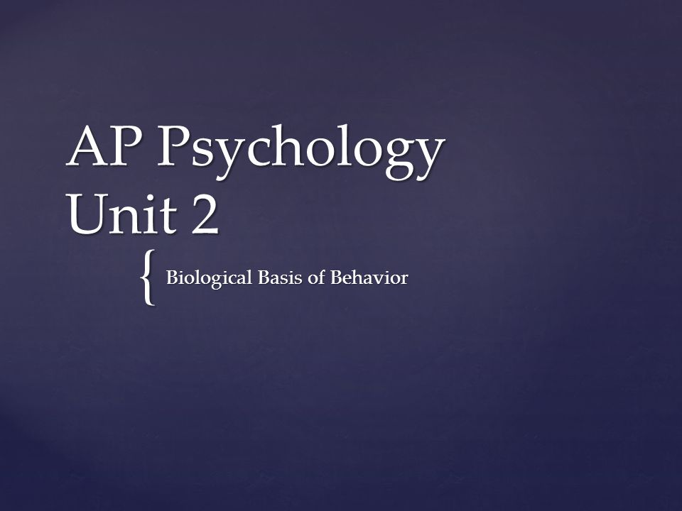 overview of psychology biological bases of Administration office in pev1 2a13 or via psychology@sussexacuk biological bases of mental will present an overview of the biological bases of mental.