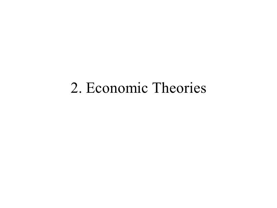 2. Economic Theories