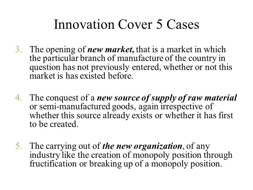 Innovation Cover 5 Cases