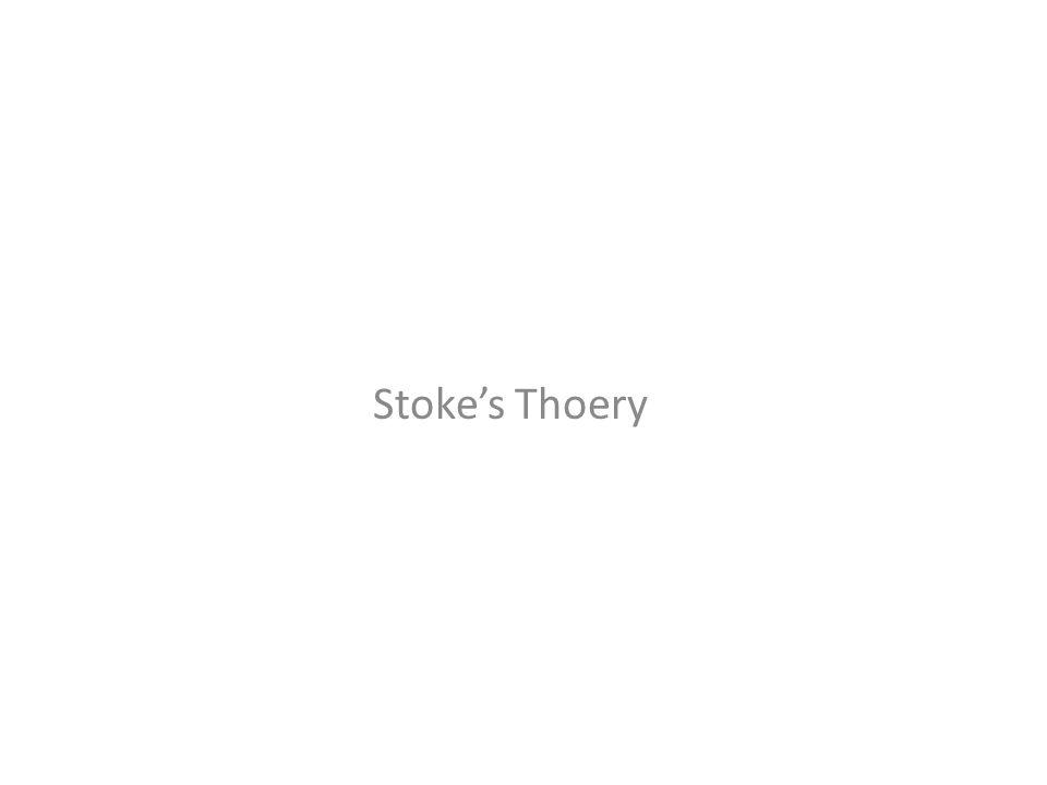 Stoke's Thoery