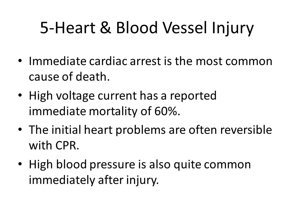 5-Heart & Blood Vessel Injury
