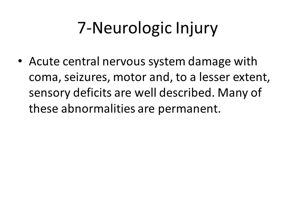 7-Neurologic Injury