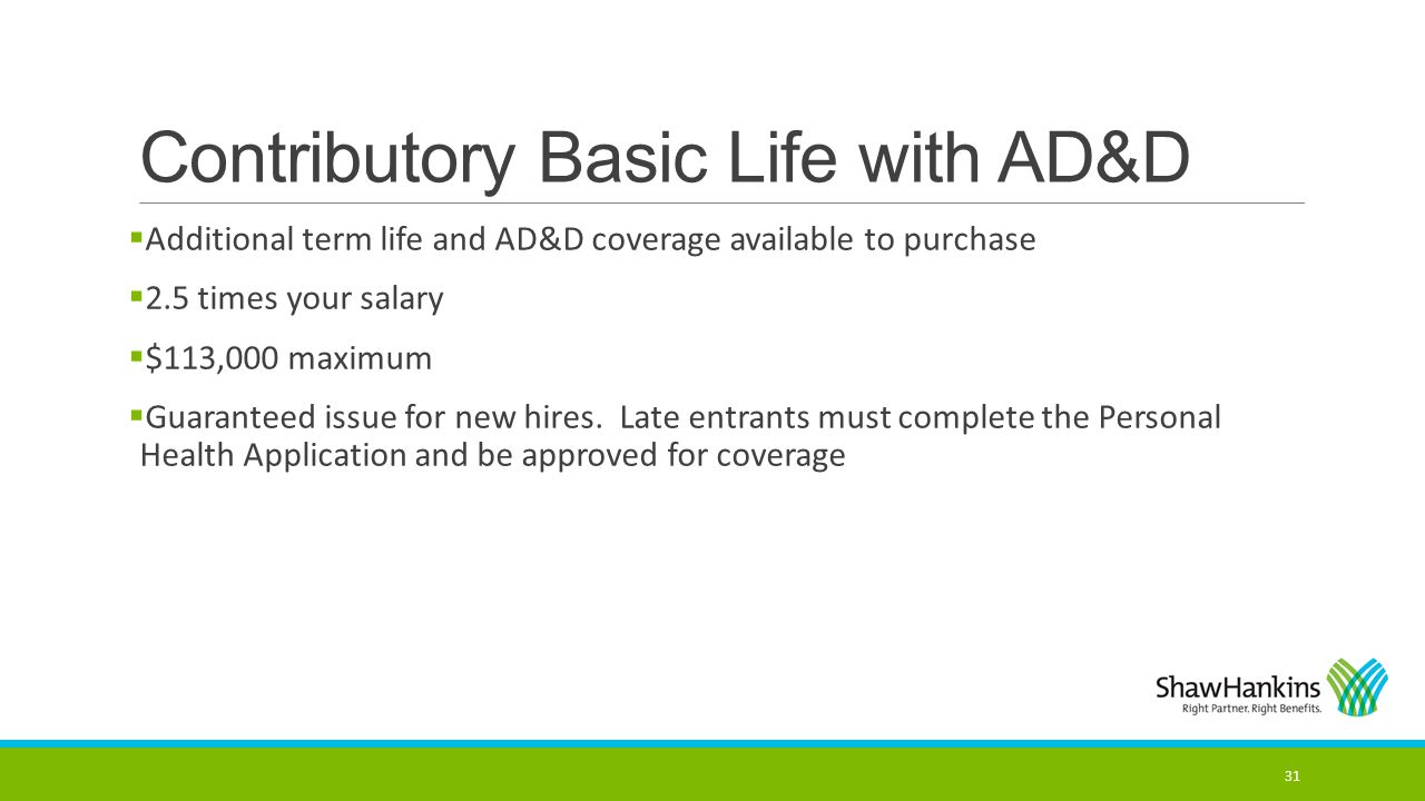 Contributory Basic Life with AD&D