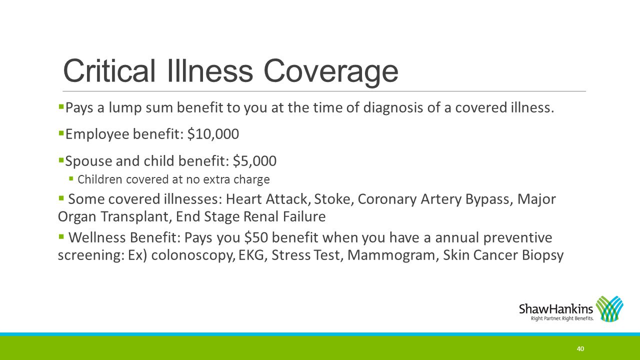 Critical Illness Coverage