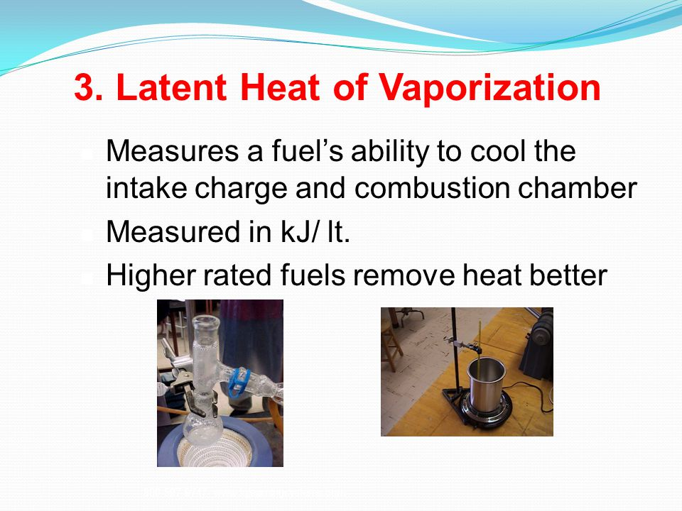 3. Latent Heat of Vaporization