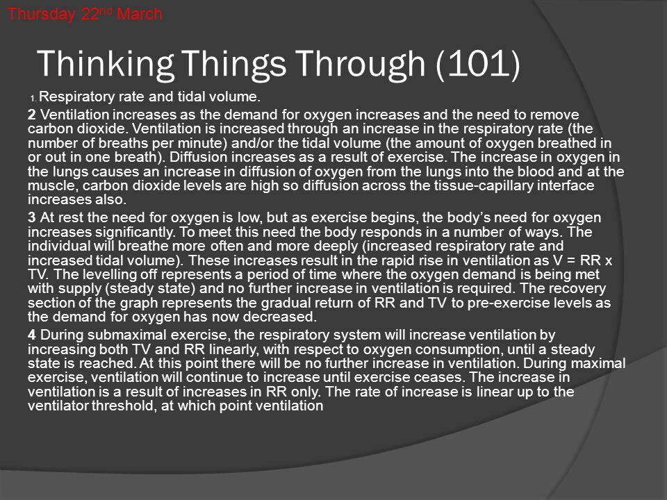 Thinking Things Through (101)