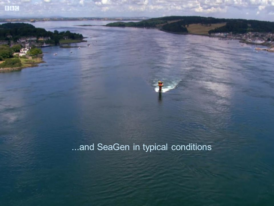 the SeaGen tidal current turbine progress report
