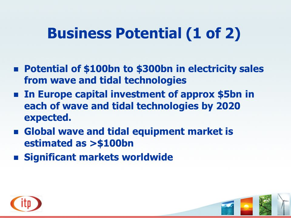 Business Potential (1 of 2)