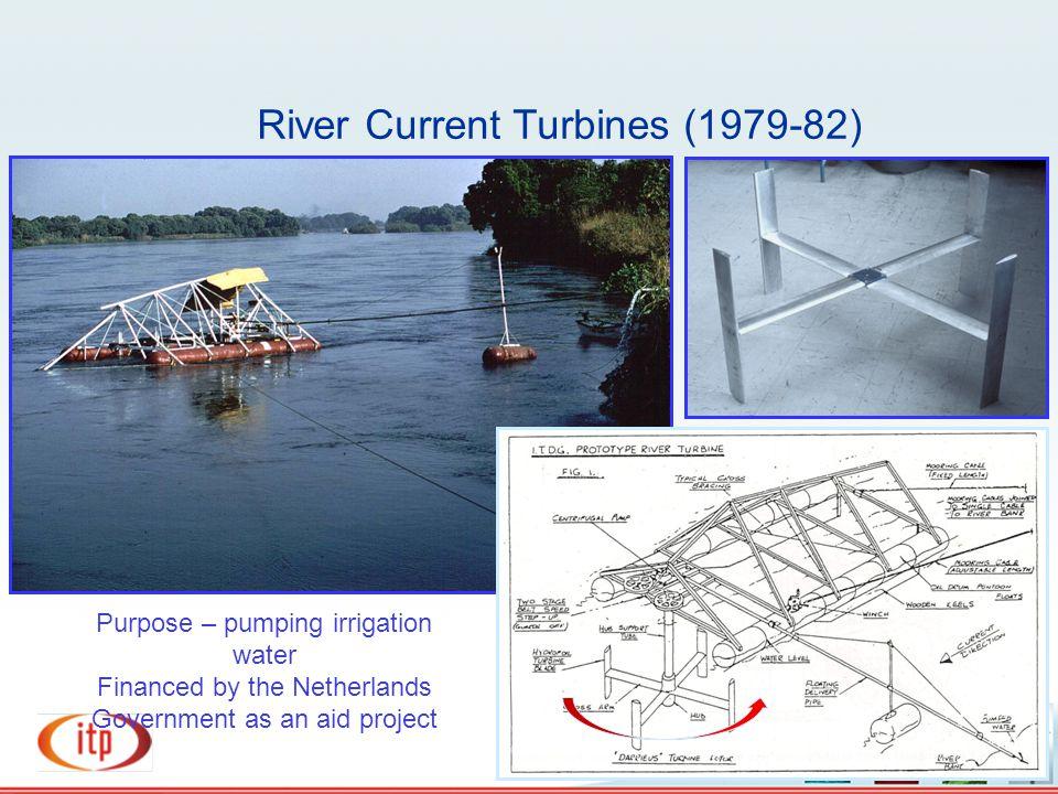 River Current Turbines (1979-82)
