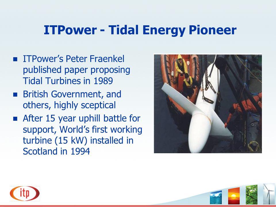 ITPower - Tidal Energy Pioneer