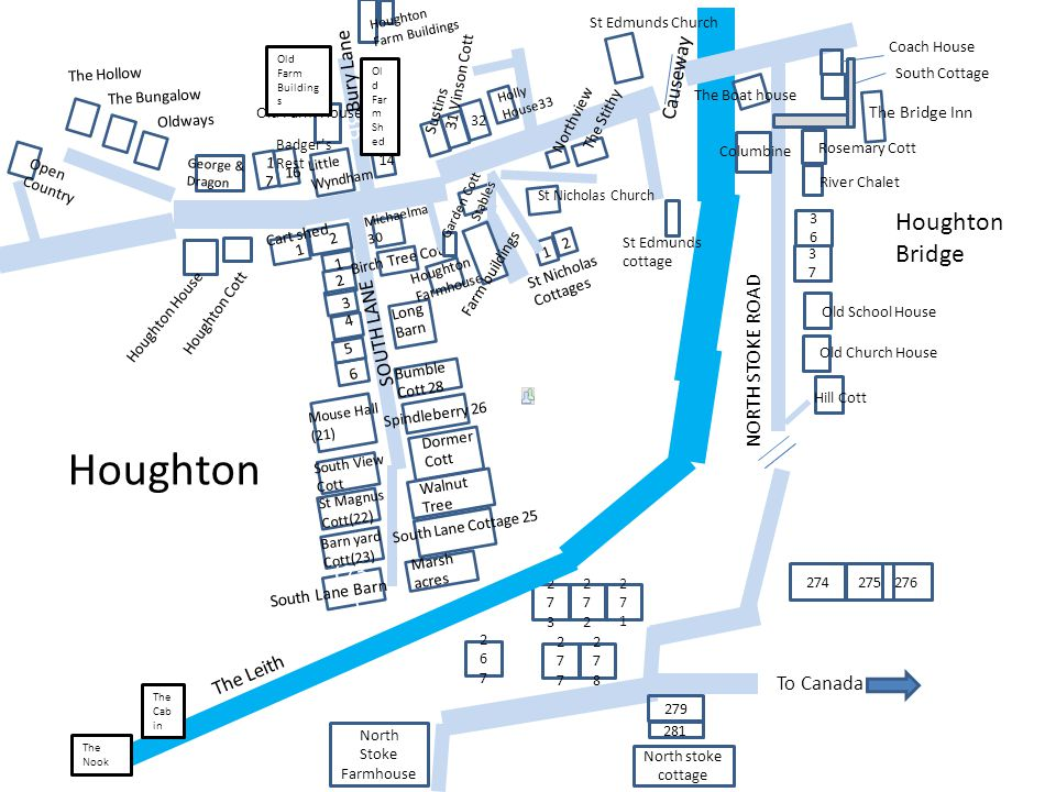Houghton BB Houghton Bridge (23) Bury Lane Causeway SOUTH LANE