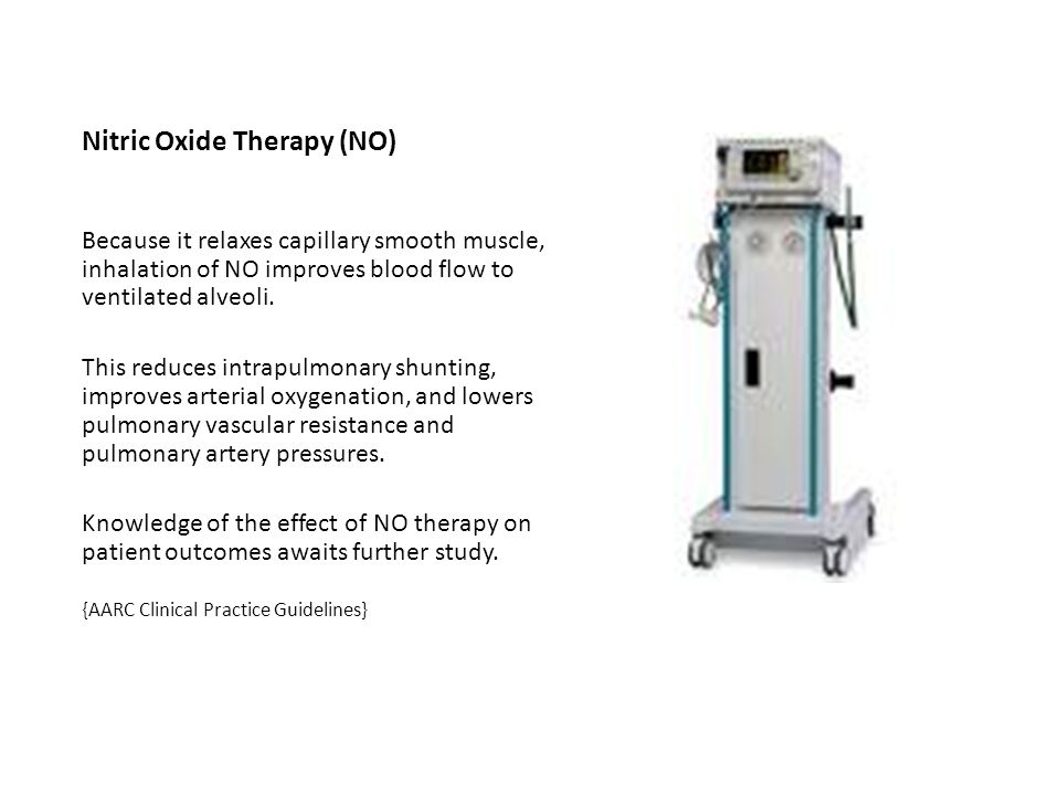Nitric Oxide Therapy (NO)