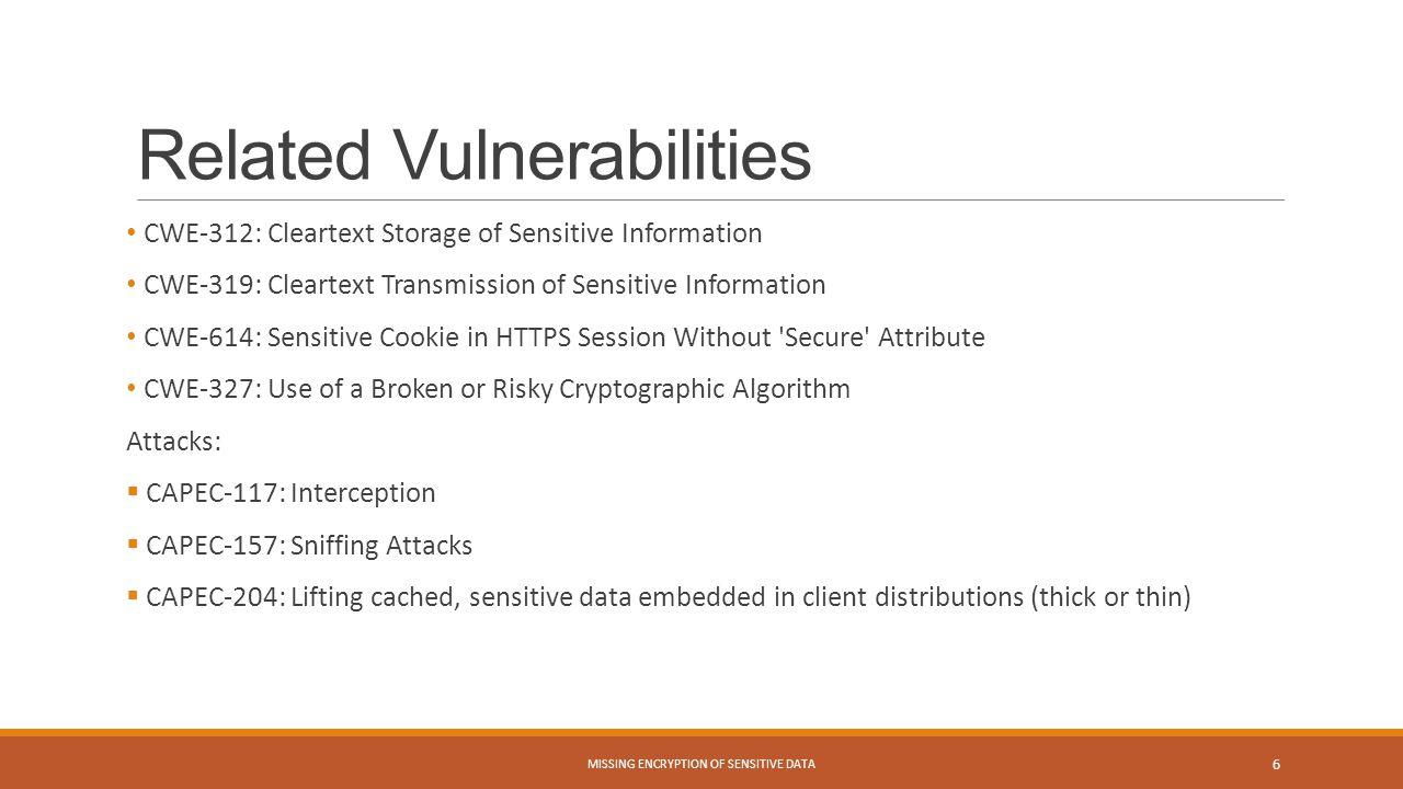 Related Vulnerabilities