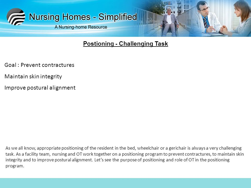 Postioning - Challenging Task