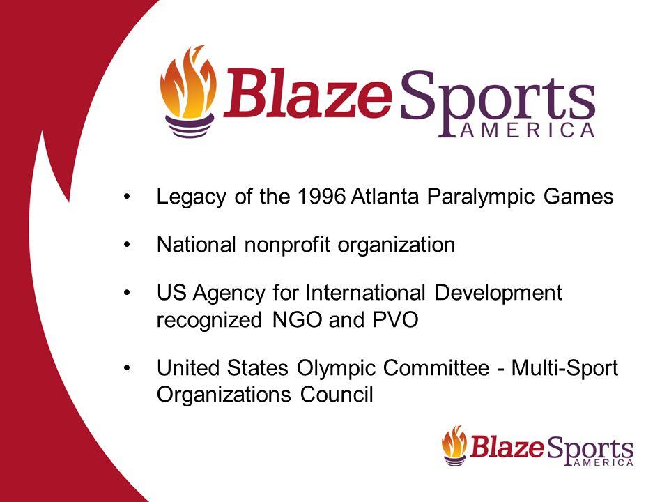 Legacy of the 1996 Atlanta Paralympic Games