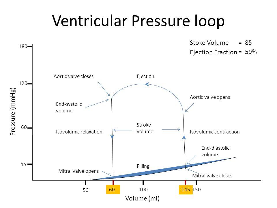 Ventricular Pressure loop