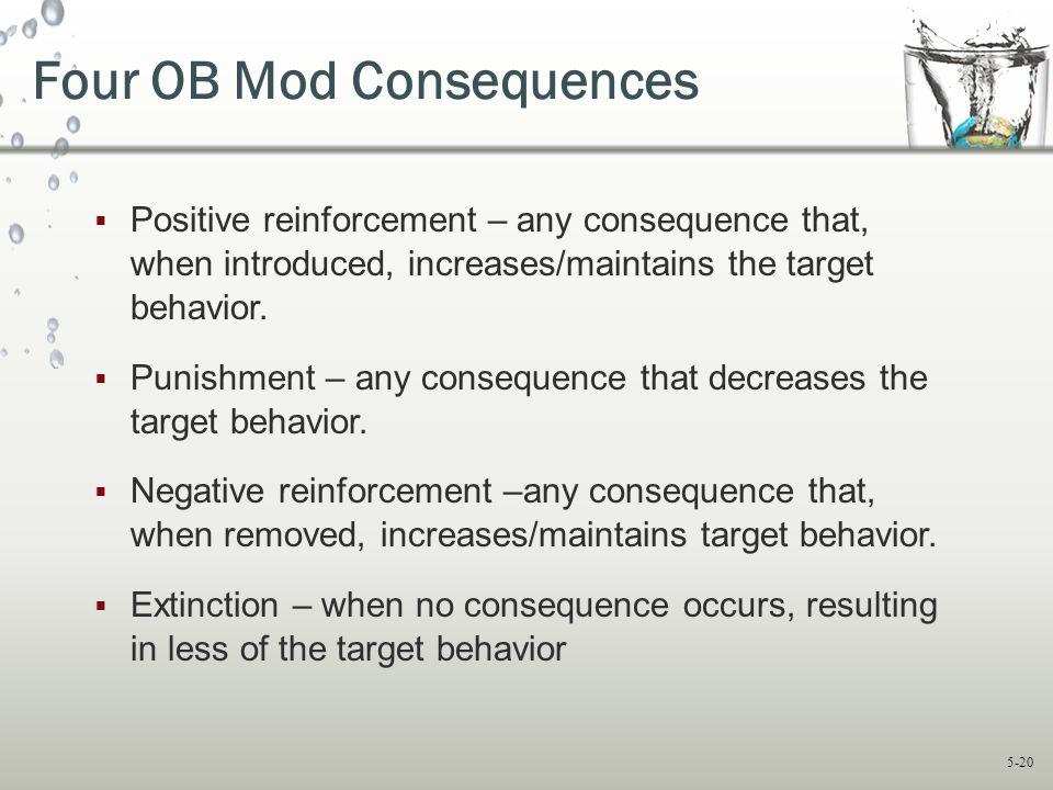 Four OB Mod Consequences