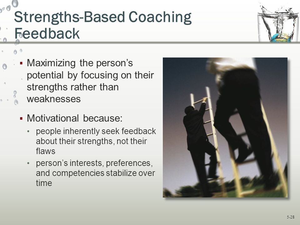 Strengths-Based Coaching Feedback