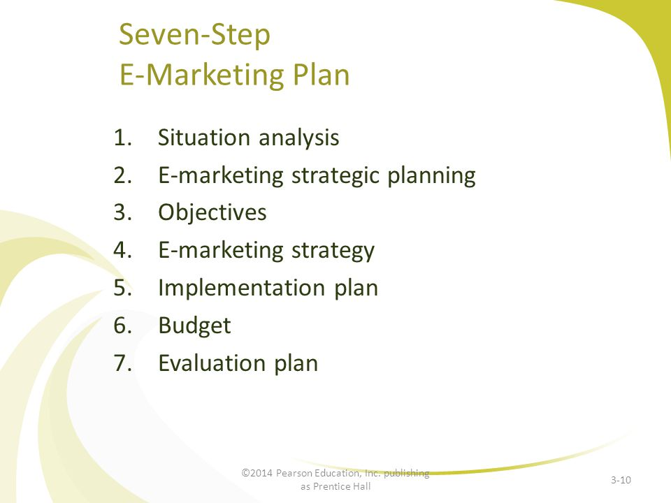 Seven-Step E-Marketing Plan