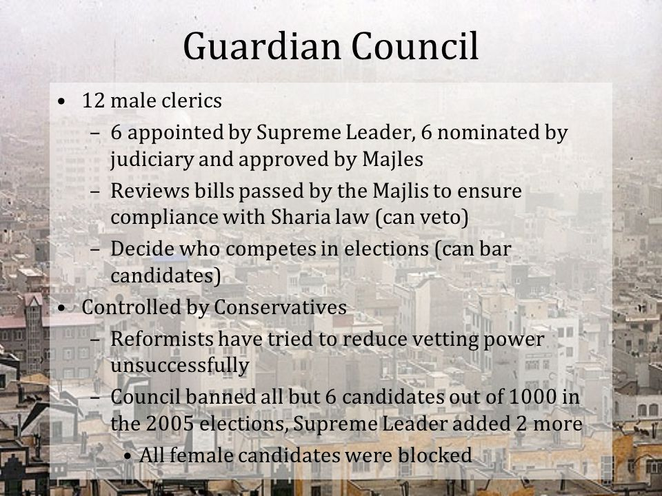 Guardian Council 12 male clerics